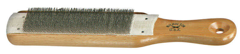 Nicholson  8 in. L Wood  File Cleaner  1 pc.