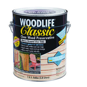Woodlife  Classic  Water-Based  Wood Preservative  1 gal. Clear