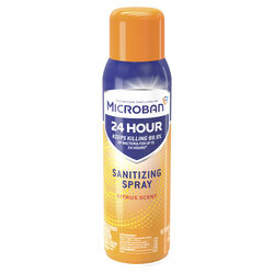 Microban Citrus Scent Sanitizer and Deodorizer 15 oz. 1 pk