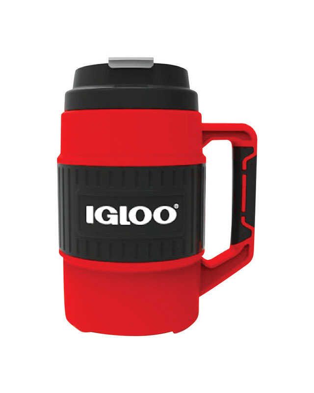 Igloo  Red  Plastic  BPA Free 1/2 gal. Insulated Mug