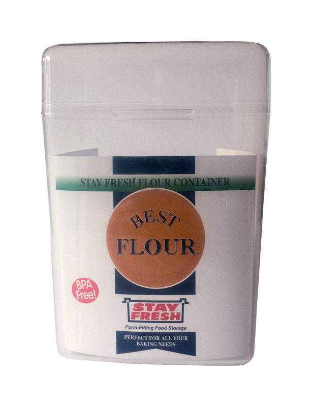 Stay Fresh  1 pk 5 lb. Flour Container