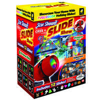 Deals on Christmas Star Shower Slide Show, LED Light Projector