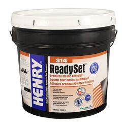 Henry  314 Ready Set  High Strength  Paste  Premixed Mastic Adhesive  3.5 gal.