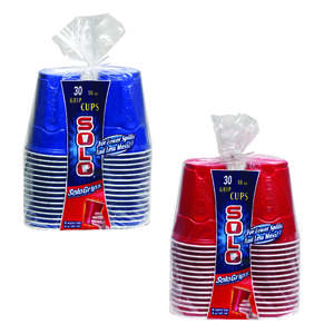 Solo  Plastic  Cups  30 pk Everyday