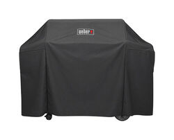 Weber Black Grill Cover For Genesis II and Genesis II LX 400 series gas grills 65 in. W x 44.5 in