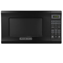 Black and Decker  0.7 cu. ft. Black  Microwave  700 watts