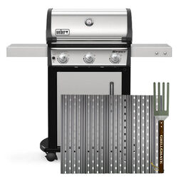 GrillGrate For Weber Spirit 300 and older Genesis Models Replacement GrillGrate Set 17.38 in. L x