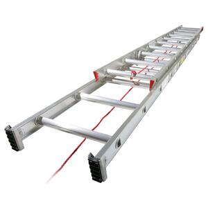 Werner  28 ft. H x 16 in. W Aluminum  Extension Ladder  Type III  200 lb.