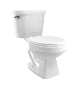 Cato  Jazmin  Elongated  Complete Toilet  1.28 gal. White