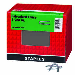 Ace  1-3/4 in. L Galvanized  Steel  Fence Staples  5 lb.