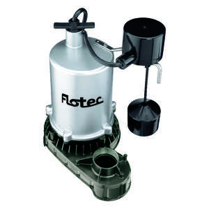 Flotec  3/4 hp 6360 gph Zinc  Submersible Sump Pump