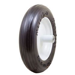 Marathon Universal Fit 8 in. Dia. x 13.3 in. Dia. 300 lb. capacity Centered Wheelbarrow Tire Pol