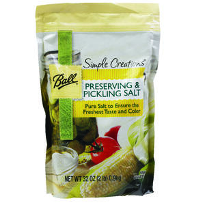 Ball  Simple Creations  Preserving and Pickling Salt  1 qt. 6 pk