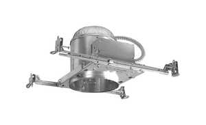 Halo  Silver  7 in. W Aluminum  Recessed Lighting Housing