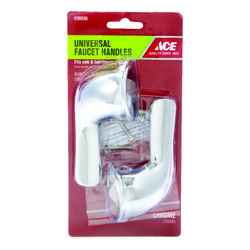 Ace For Universal Chrome Tub and Shower Faucet Handles