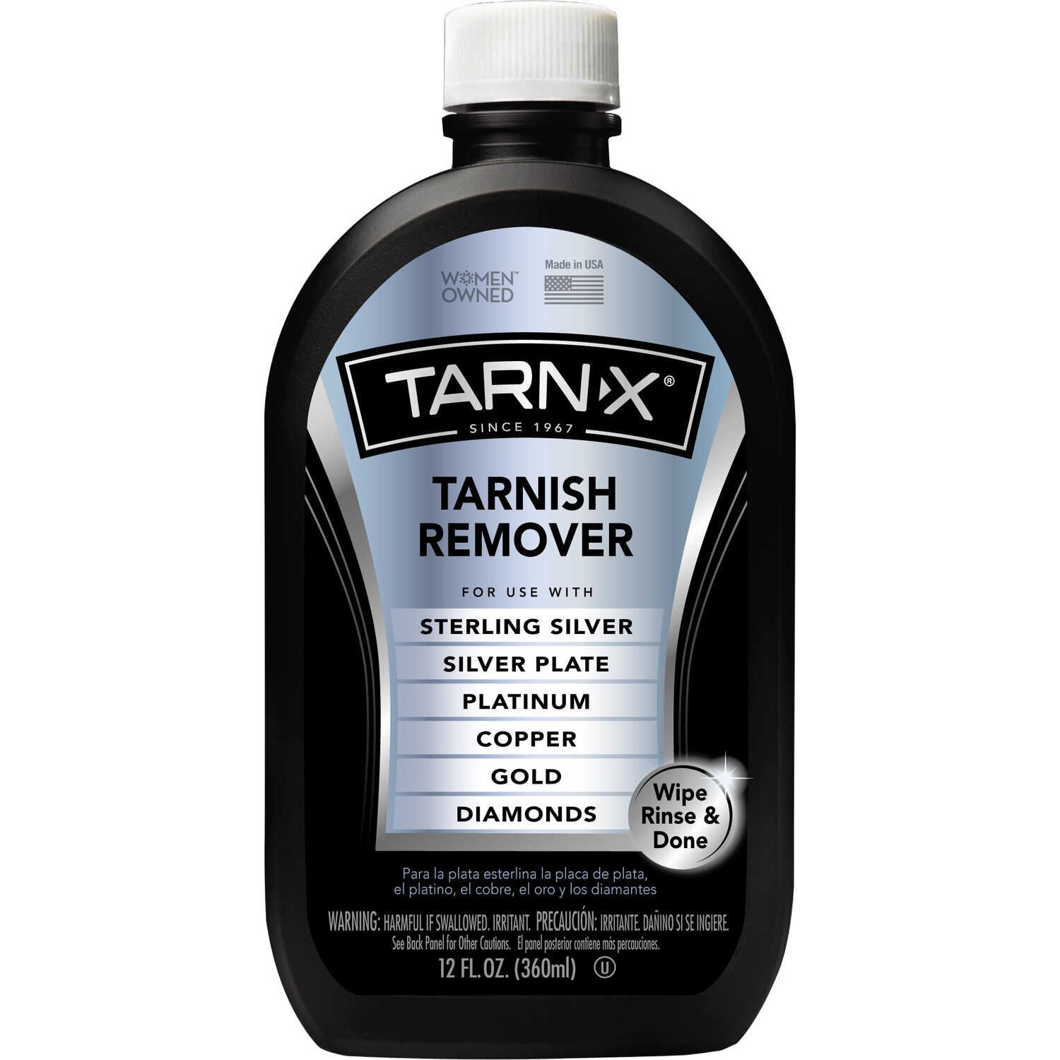 Tarn-X  No Scent Tarnish Remover  12 ounce  Liquid