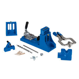 Kreg Tool  Nylon  Pocket Hole Jig  1/2 in. to 1-1/2 in. Blue  1 pc.