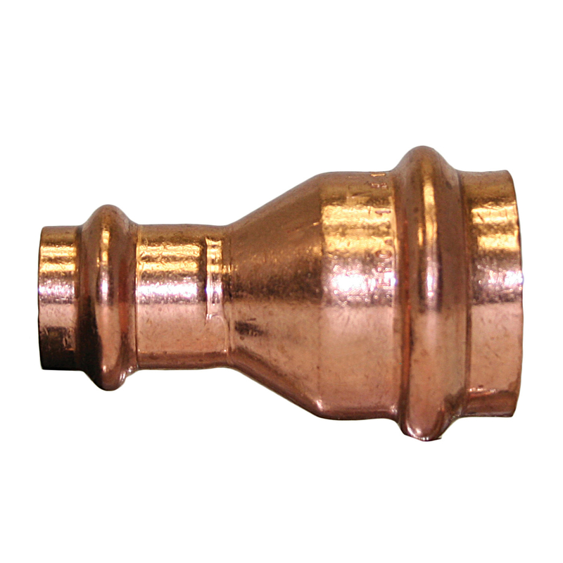 ApolloXpress  3/4 in. CTS   x 1/2 in. Dia. CTS/Press  Copper  Coupling