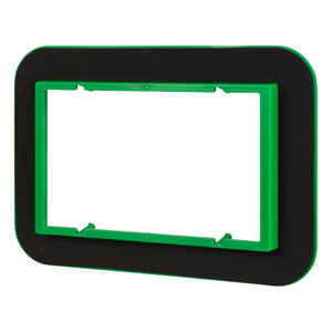 Madison Electric  Draft Seal  Rectangle  3 Gang  Draft Seal Kit  Black/Green  PVC