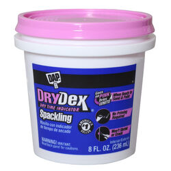 DAP  DryDex  Ready to Use White  Spackling Compound  0.5 pt.