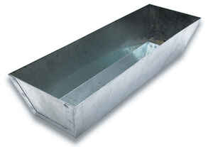 Marshalltown  Galvanized Steel  Mud Pan  12 in. L
