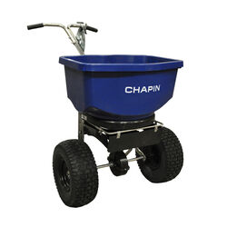Chapin  Push  Spreader  For Salt/Ice Melt 100 lb.