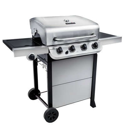Char-Broil  Performance  Liquid Propane  Grill  Stainless Steel  4 burners