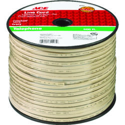 Ace  500 ft. L Ivory  Phone Line Cord