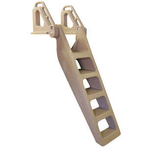 Tommy Docks  Techstar  Brown  Plastic  Sandstone  Dock Ladder