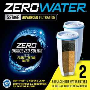 ZeroWater  Replacement Water Filter  For Pitchers