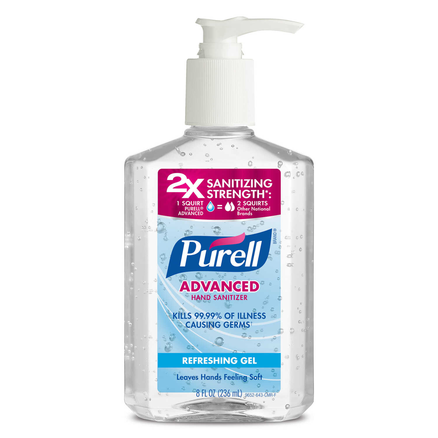 Purell  Fresh Scent Hand Sanitizer  8 oz.