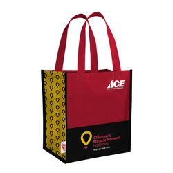 Ace  CMN  15.7 in. H x 6.7 in. W x 14.7 in. L Reusable Shopping Bag