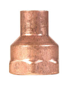 Elkhart  1/2 in. Dia. x 3/4 in. Dia. Copper To FIP  Copper  Pipe Adapter
