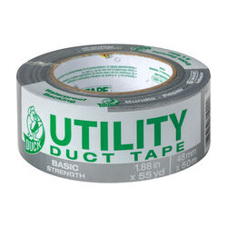 Duck  1.88 in. W x 55 yd. L Gray  Duct Tape