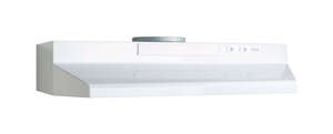 Broan  30 in. W Range Hood  White