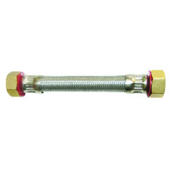 Ace  3/4 in. FIP   x 3/4 in. Dia. FIP  18 in. Stainless Steel  Supply Line