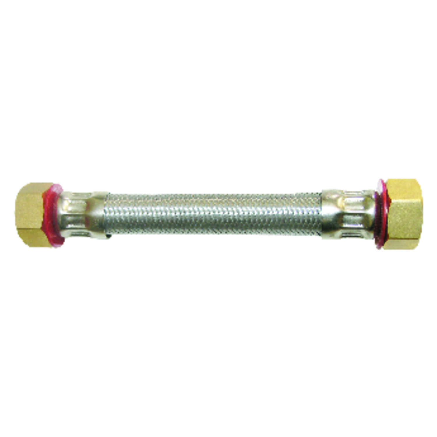 Ace  3/4 in. FIP   x 3/4 in. Dia. FIP  Stainless Steel  1.5 ft. Supply Line