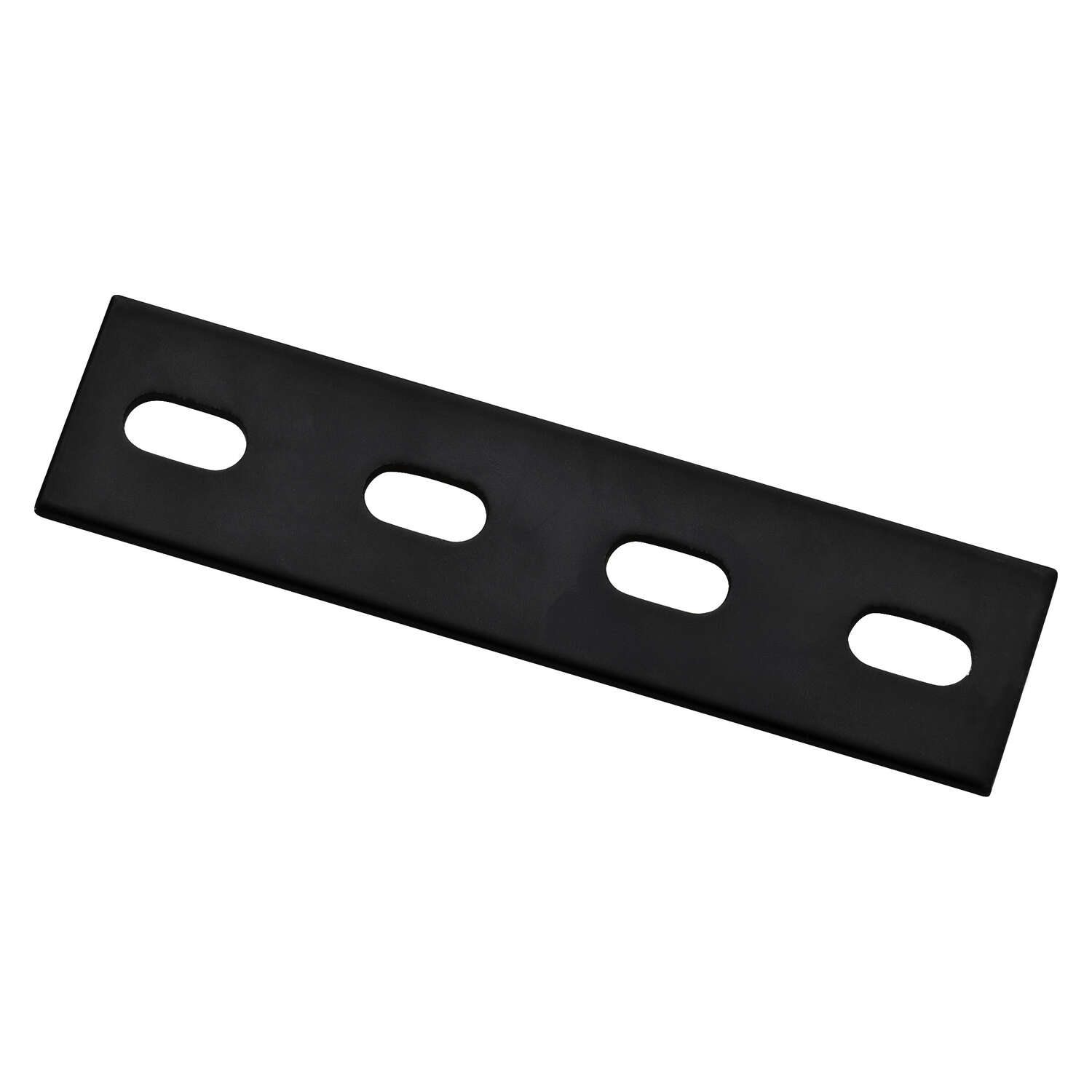 National Hardware 6 in. H x 1.5 in. W x 0.125 in. D Black Carbon Steel Flat Mending Plate