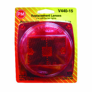 Peterson  Square  Red  Replacement Lens