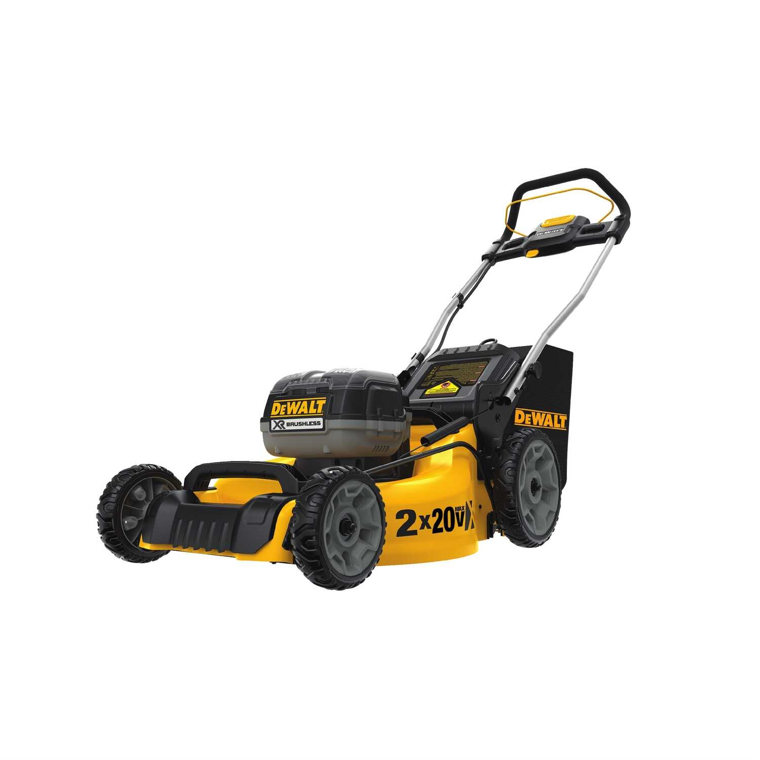 DeWalt  20 in. W Manual-Push  Mulching Capability Lawn Mower