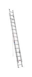 Werner  28 ft. H x 16 in. W Extension Ladder  Aluminum  Type III  200 lb.
