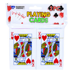 Diamond Visions Playing Cards Plastic Assorted