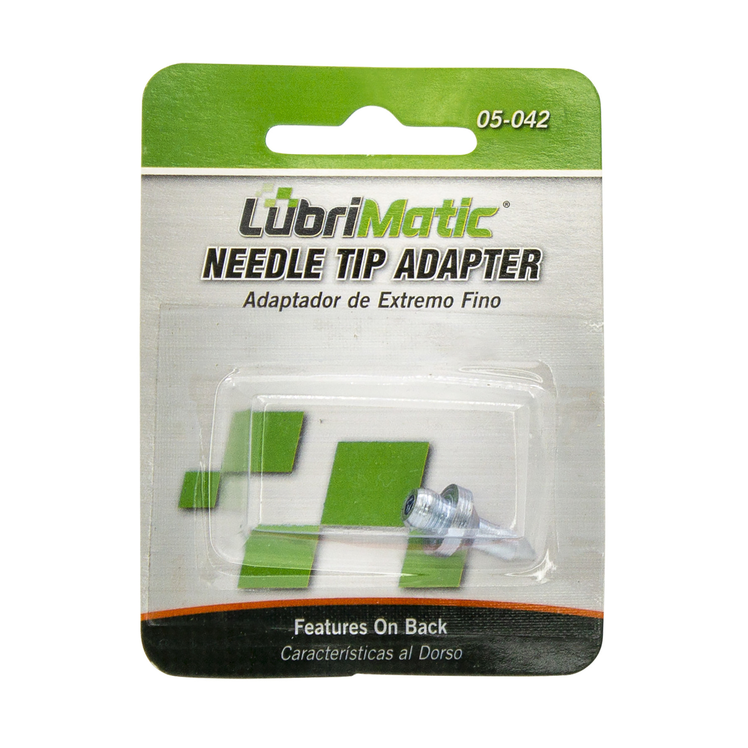 Lubrimatic  Straight  Needle Tip Adapter  1