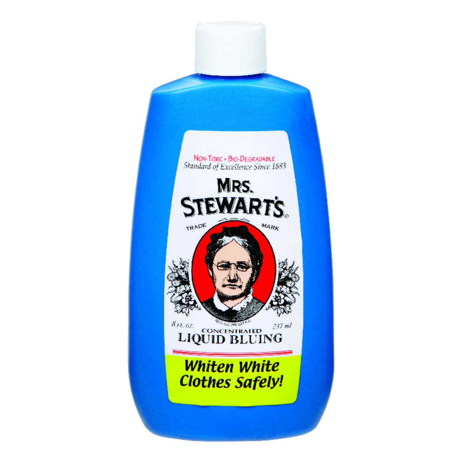 Mrs  Stewart's Unscented Scent Laundry Whitener Liquid 8 oz  - Ace