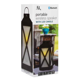 AR  Heartland  Wireless Bluetooth Weather Resistant LED Lantern Speaker