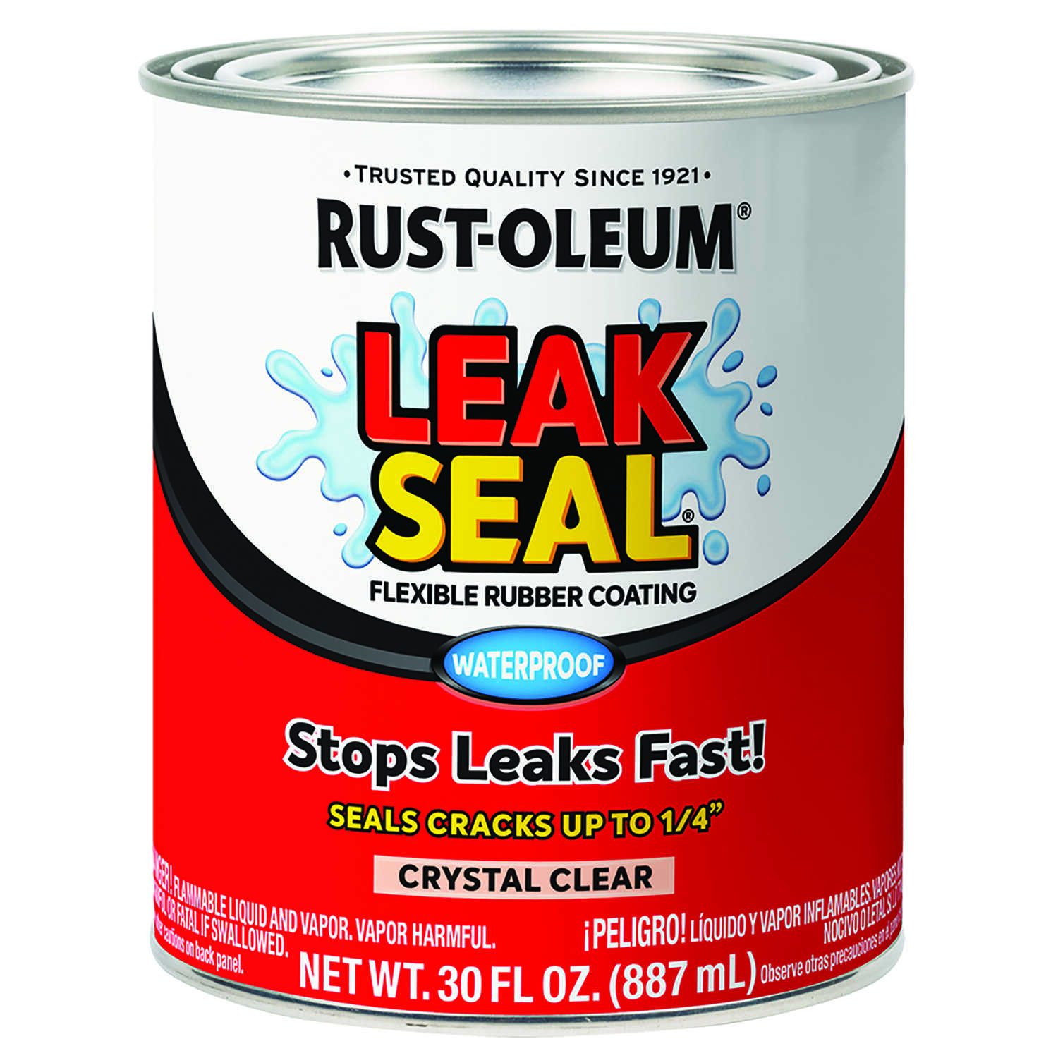 Rust-Oleum  Crystal Clear  Rubber Coating  1 qt.