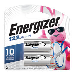 Energizer  Lithium  123  3 volt Camera Battery  2 pk