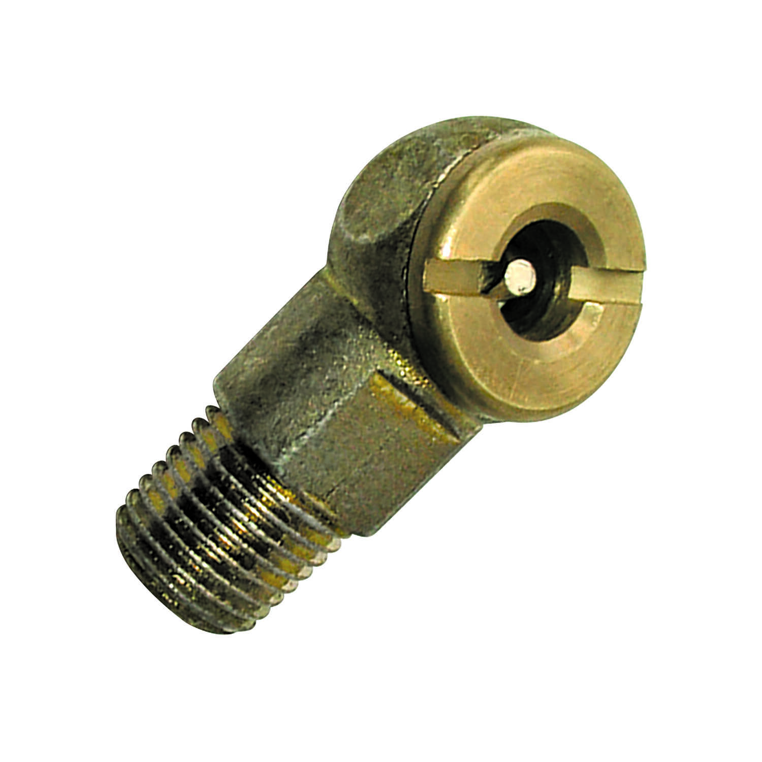 Tru-Flate  Brass  Air Line Chuck  1/4  1/4 in. Male  NPT   1 pc. NPT  Male  1/4