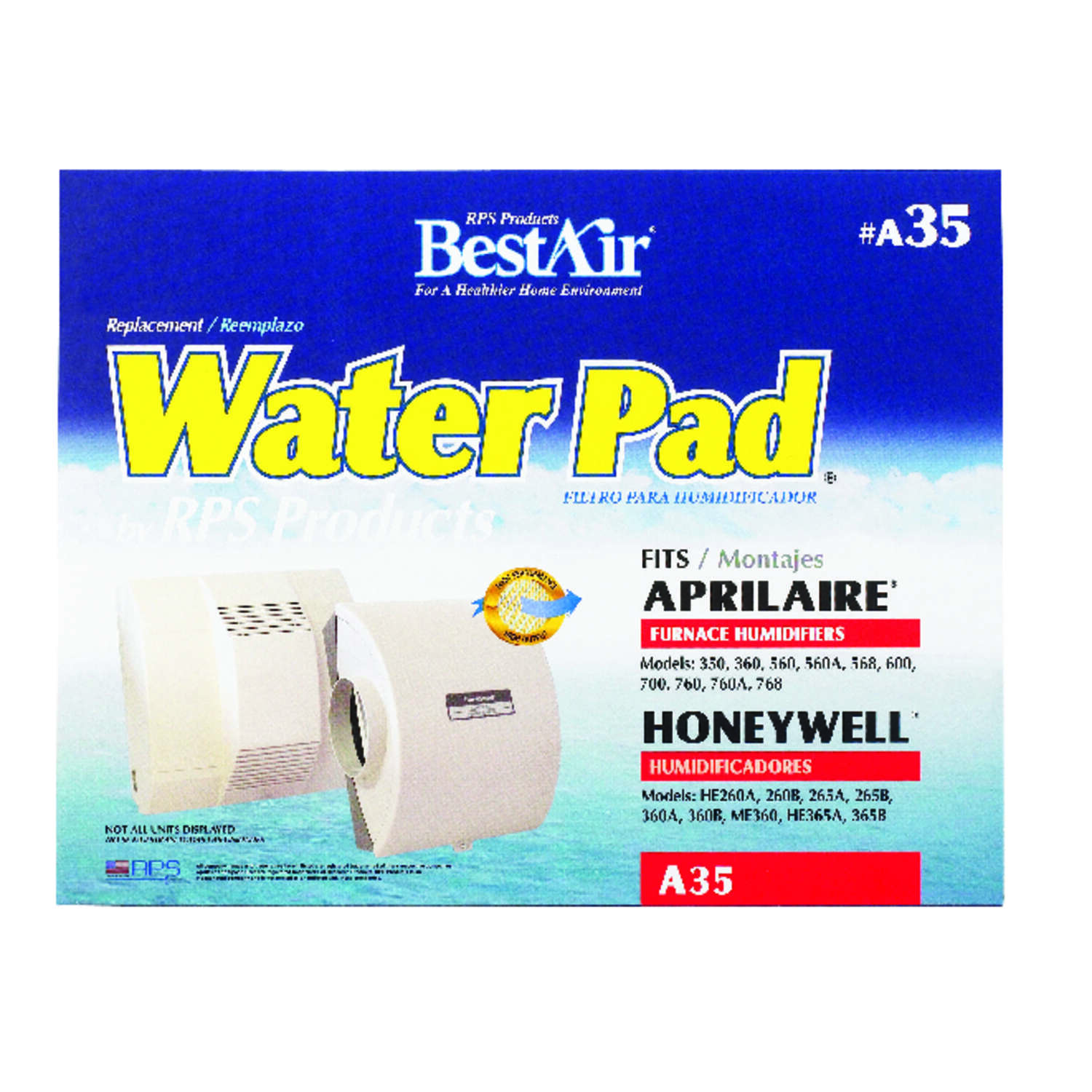 BestAir Replacement Water Pad For Specific Aprilaire and Honeywell Humidifiers