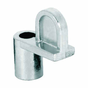 Prime-Line  Mill  Zinc  Die Cast  Screen Clip  For 3/8 4 pk